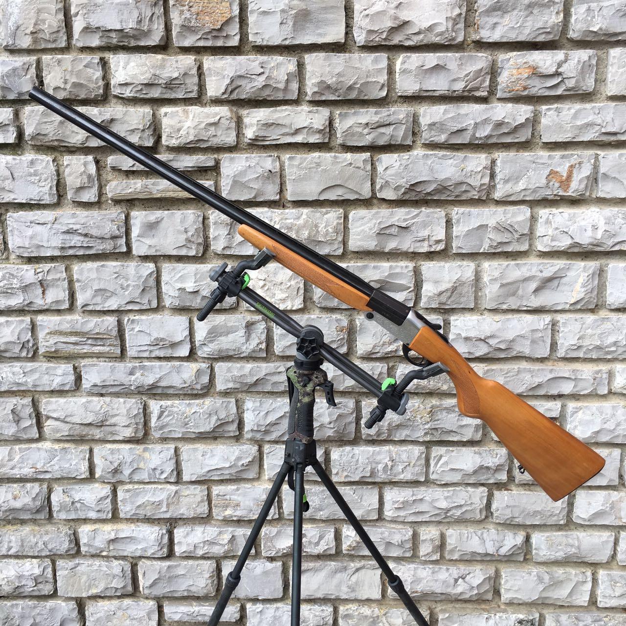Fucile artigianale acciaio vickers con canna cromata Calibro 24